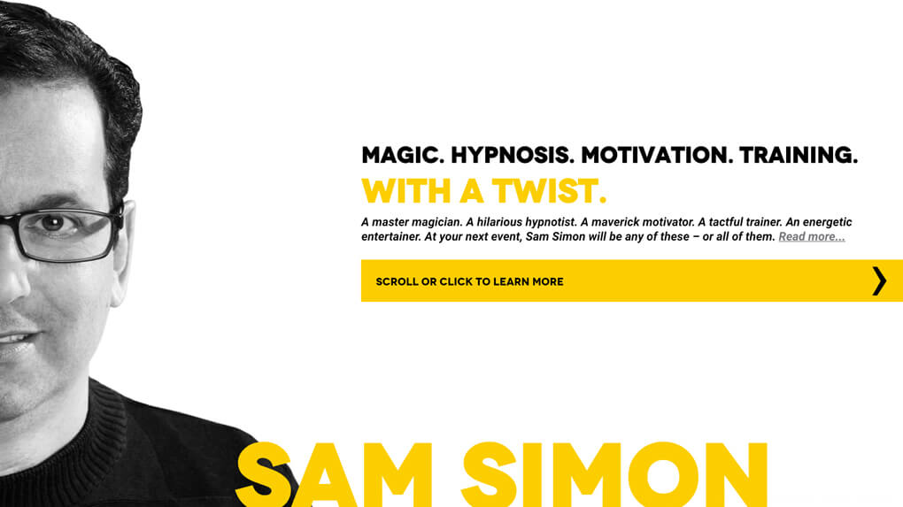 Sam Simon Website